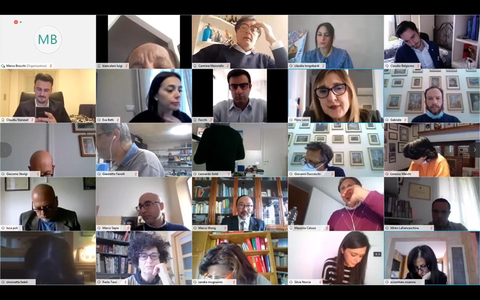 Consiglio Comunale del 16/04/2020 ore 14:30