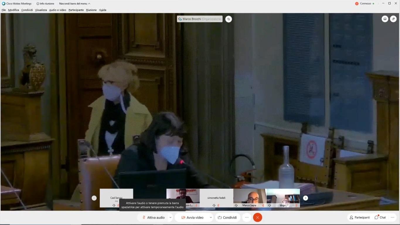Consiglio Comunale del 29/10/2020 ore 15:00