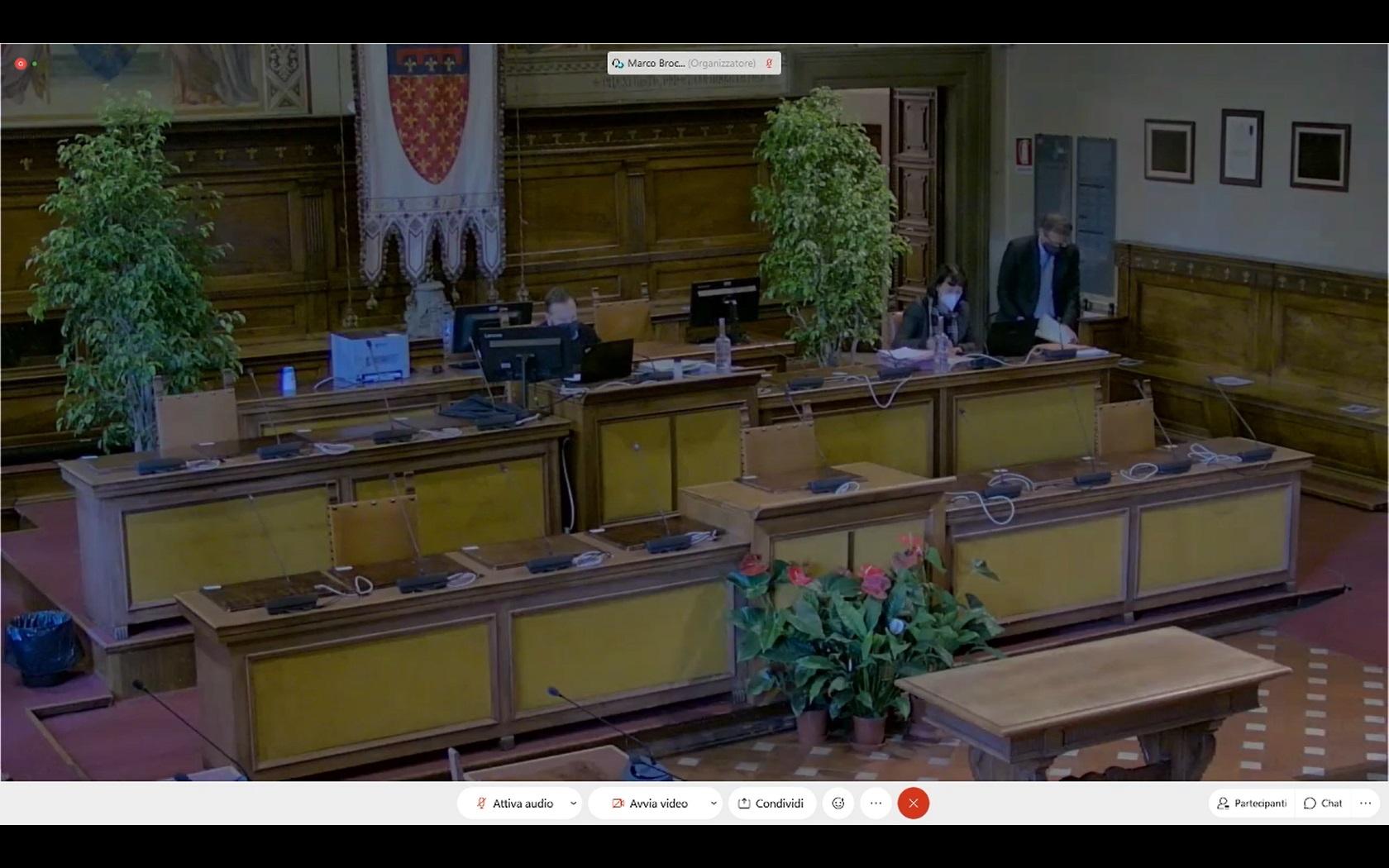 Consiglio Comunale del 19/11/2020 ore 14:30