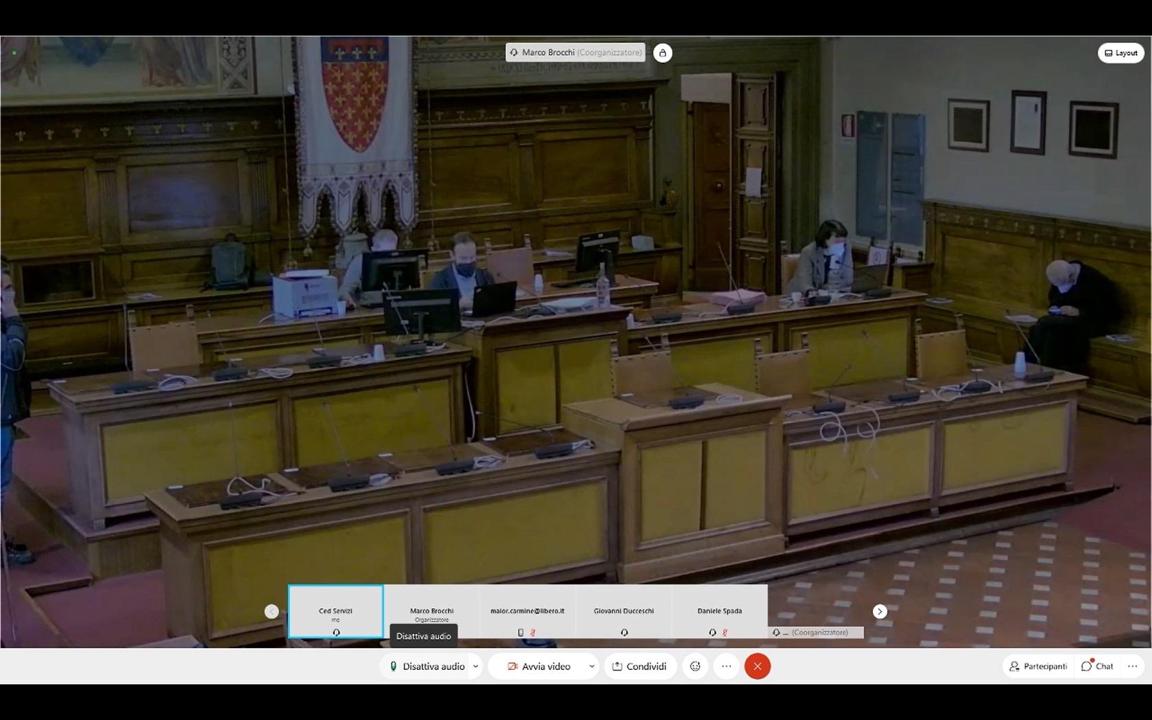 Consiglio Comunale del 10/12/2020 ore 14:30