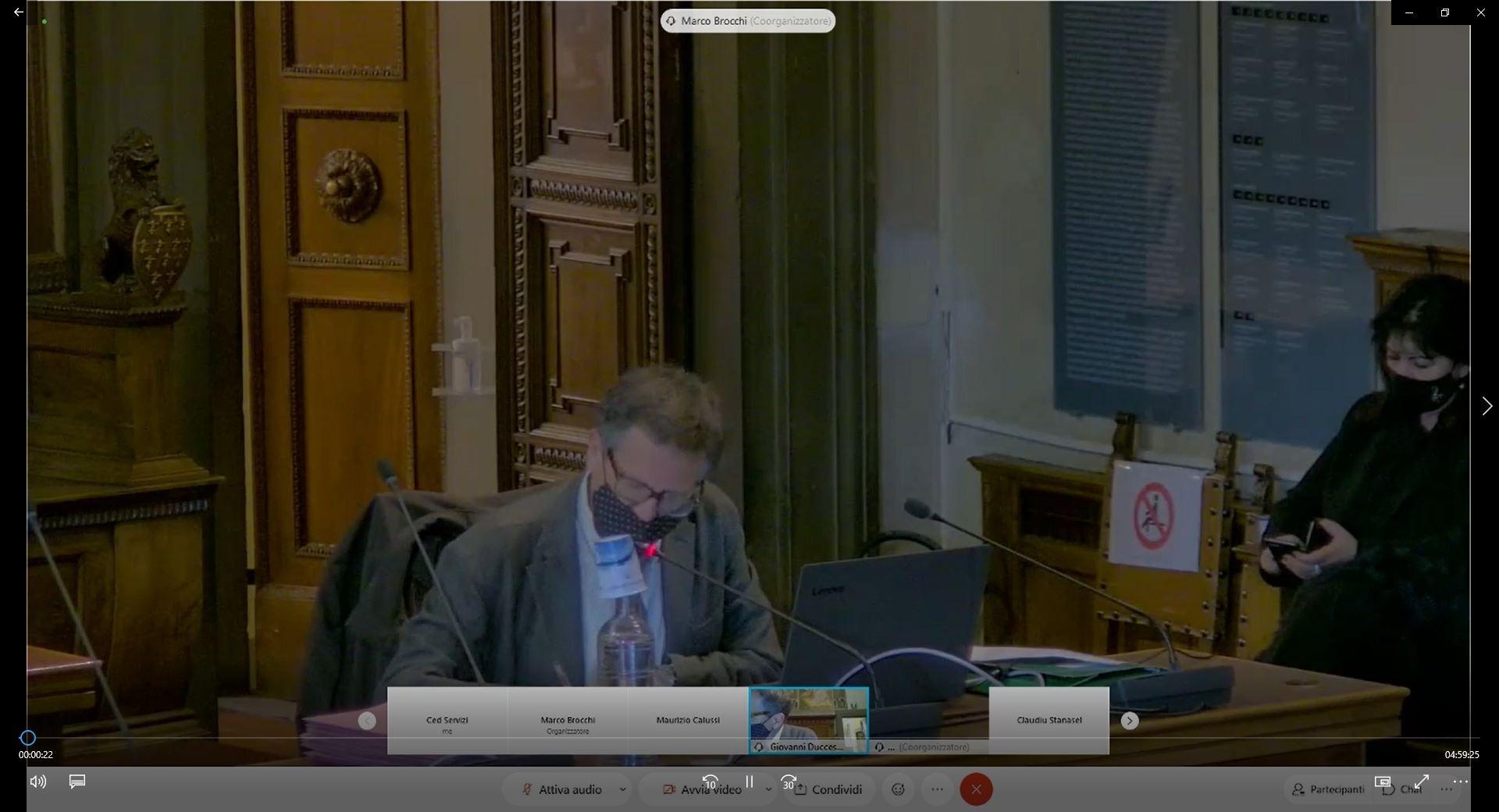 Consiglio Comunale del 25/02/2021 ore 14:30