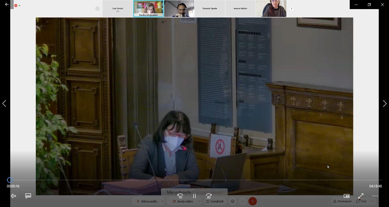 Consiglio Comunale del 15/04/2021 ore 14:30