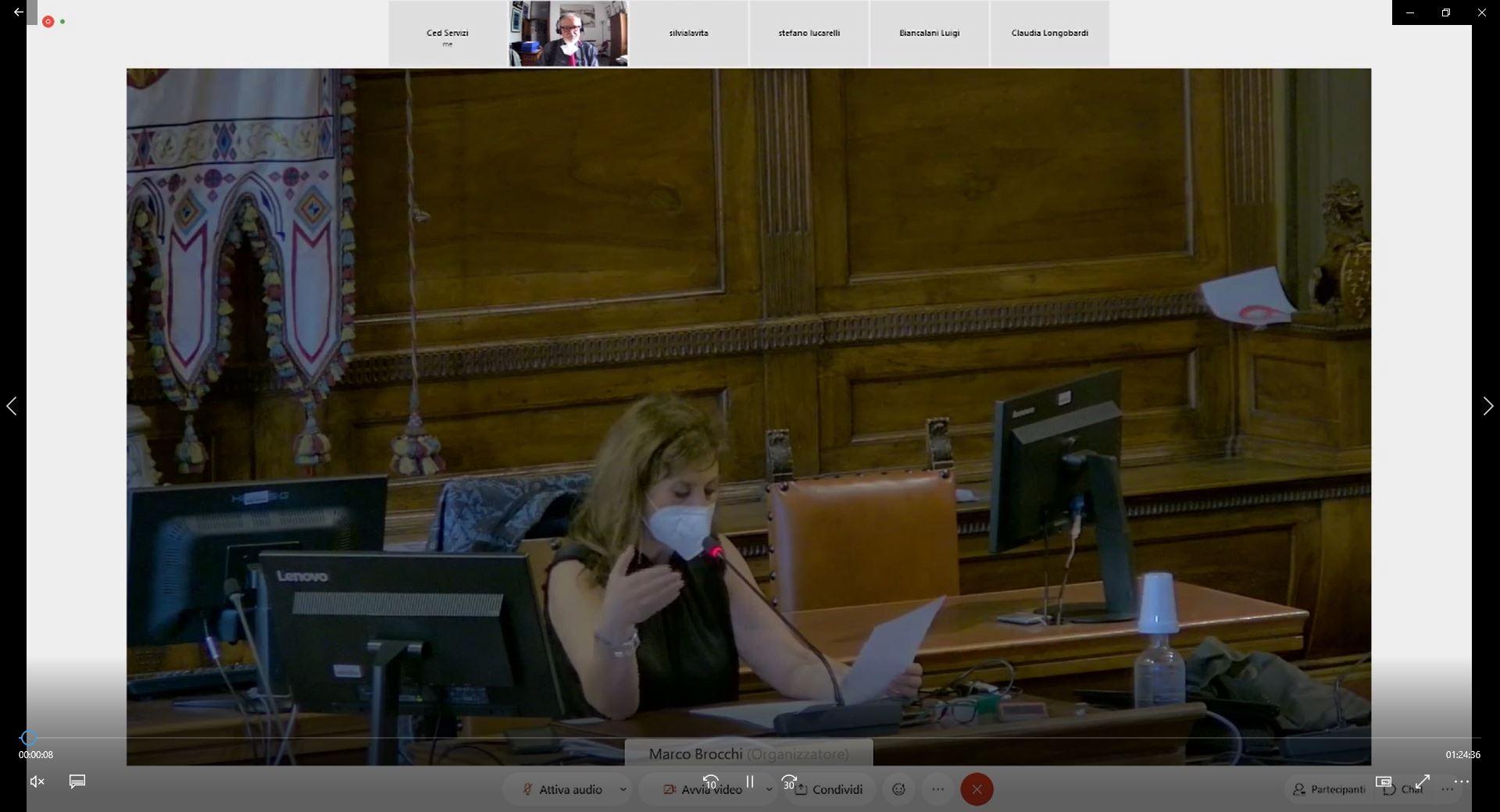 Commissione consiliare n. 5 del 17/05/2021 ore 15:00