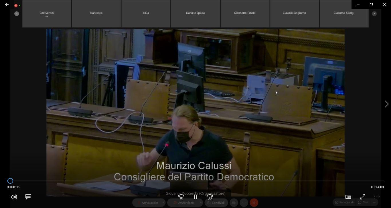 Commissione consiliare n. 4 del 23/07/2021 ore 09:00