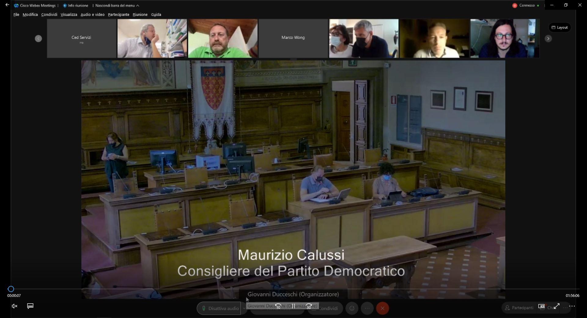 Commissione consiliare n. 3 + 4 congiunte del 04/08/2021 ore 08:30
