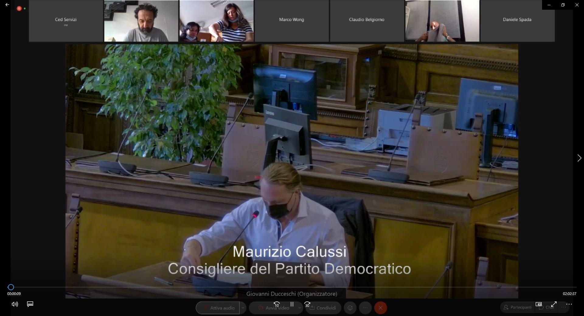 Commissione consiliare n. 4 del 20/09/2021 ore 08:30