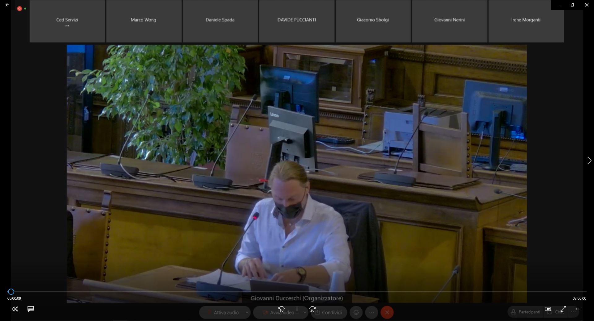 Commissione consiliare n. 4 del 22/09/2021 ore 09:00