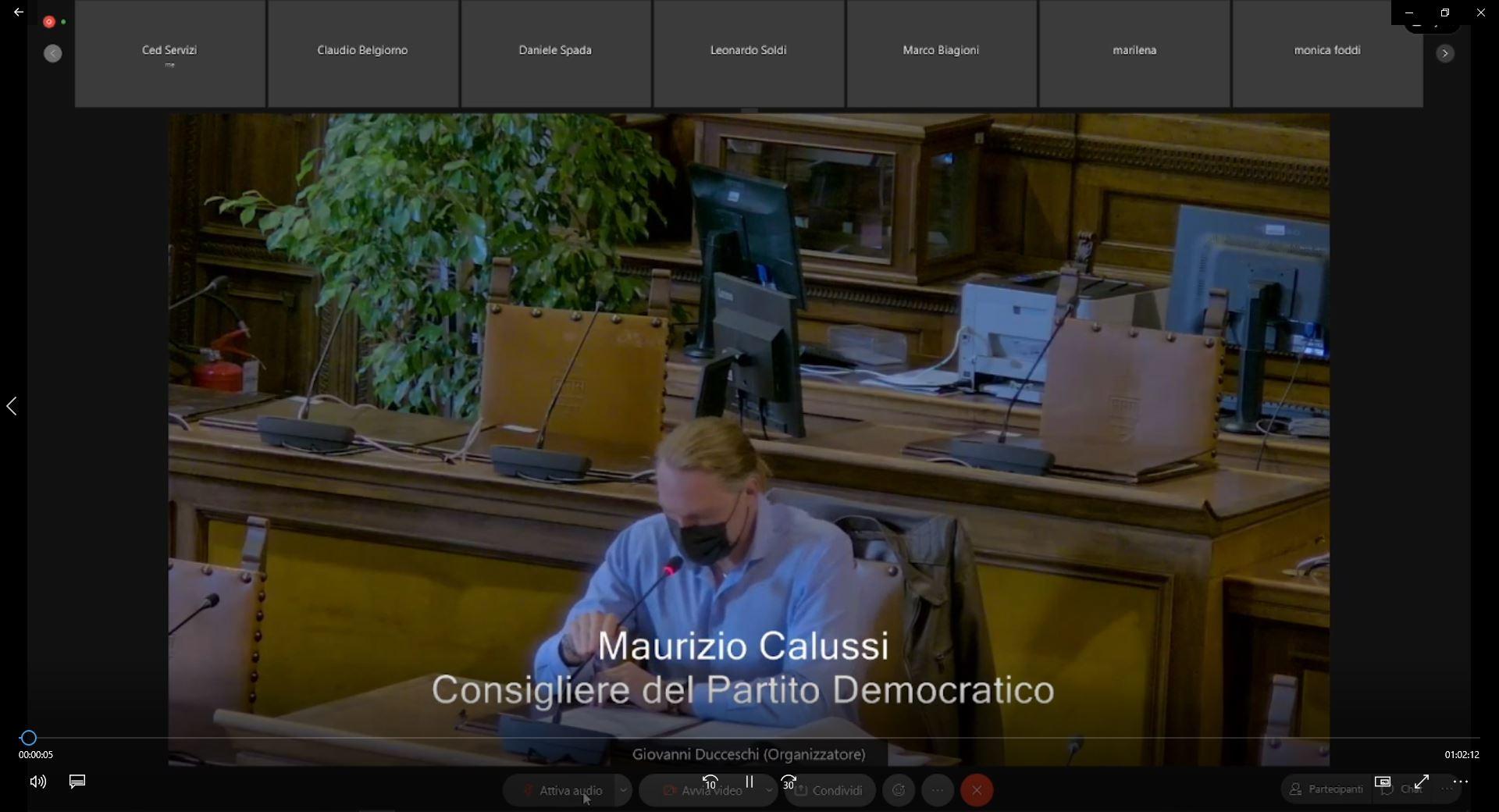 Commissione consiliare n. 4 del 07/10/2021 ore 15:00